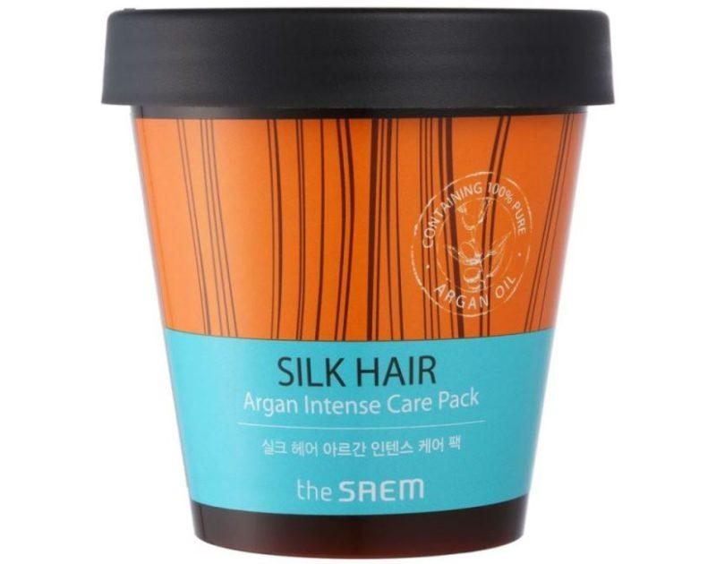 The Saem Silk Hair Argan Intense Care Pack фото
