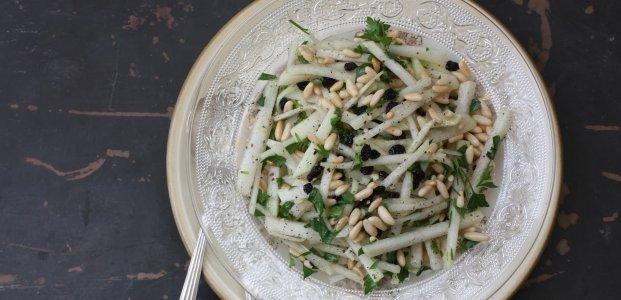 Салат з кольрабі - 9 простих рецептів
