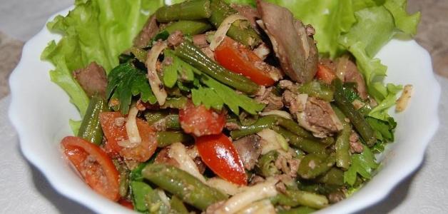 Салат з кольрабі з капустою