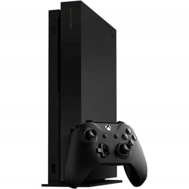 Microsoft Xbox One X фото