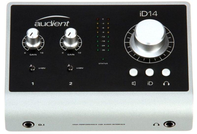 Audient iD14 фото