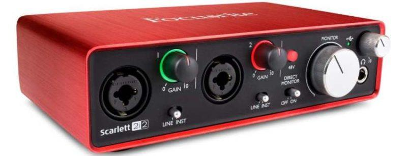 Focusrite Scarlett 2i2 2nd Gen фото