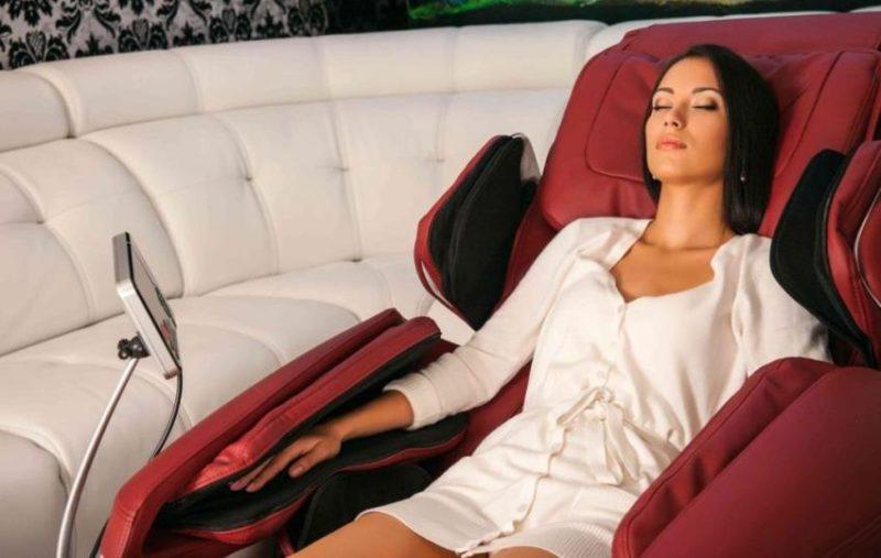 Як вібрато масажне крісло