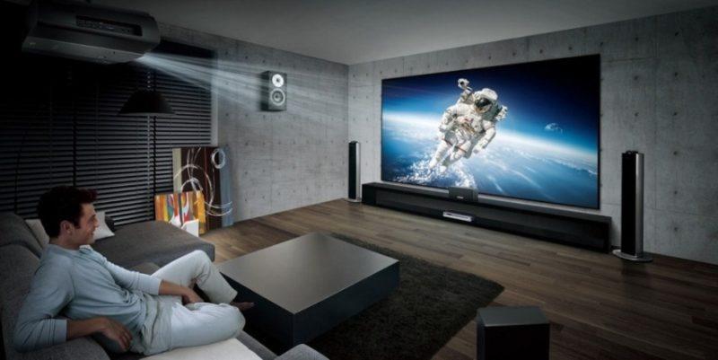 Вибираємо проектор для будинку