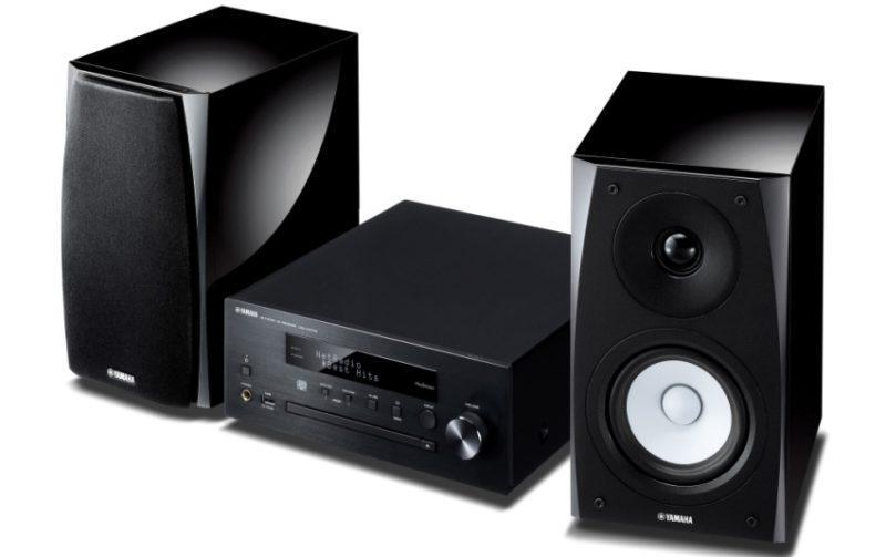 Yamaha MCR-N570 black фото