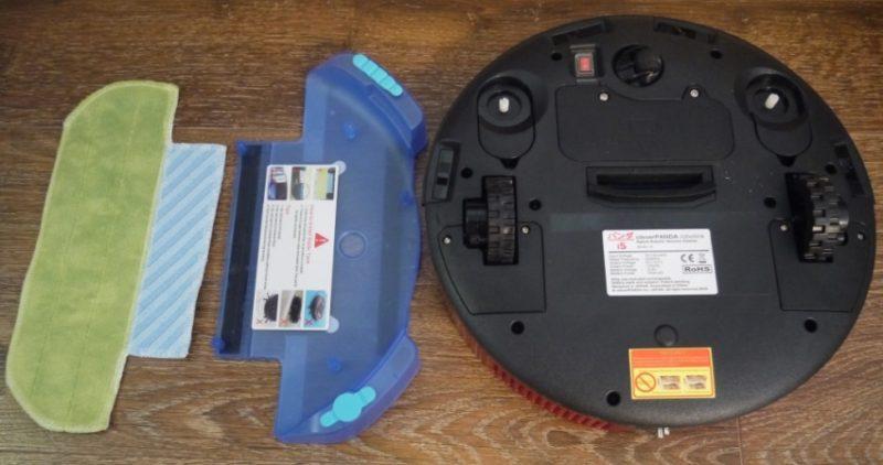 Волога прибирання-компоненти робота пилососа