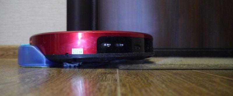 Товщина робота- пилососа cleverPANDA i5