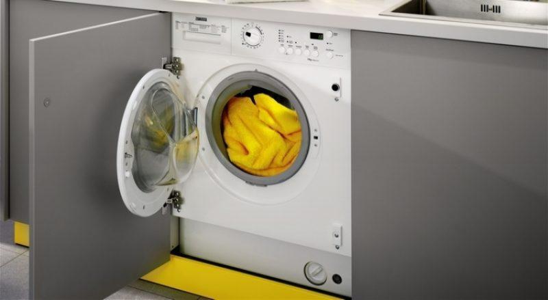 Вібіраємо вбудовувану пральну машину з сушкою