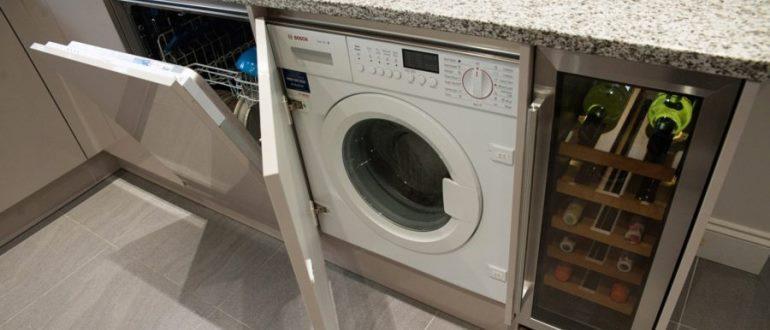 Топ 10 кращих вбудованих пральних машин з сушкою