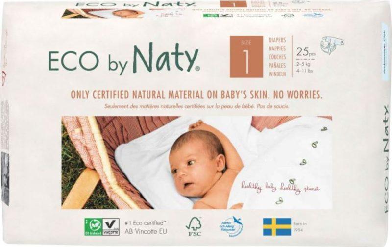 Naty підгузники 1 (2-5 кг) 25 шт