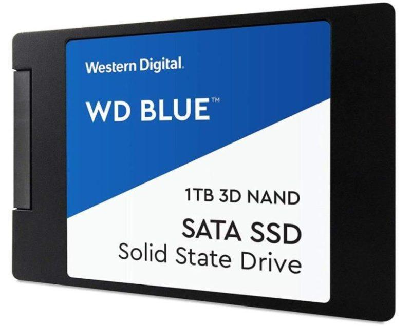 Western Digital WD BLUE 3D NAND SATA SSD 250 GB (WDS250G2B0A) фото