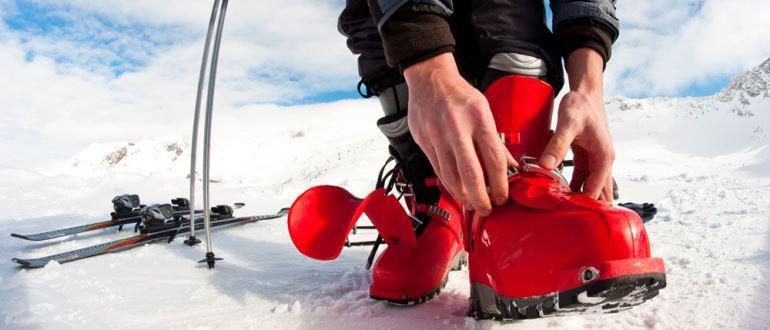 Вибираємо гірськолижні черевики