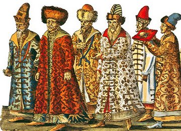 Бояри - вищий шар феодального суспільства
