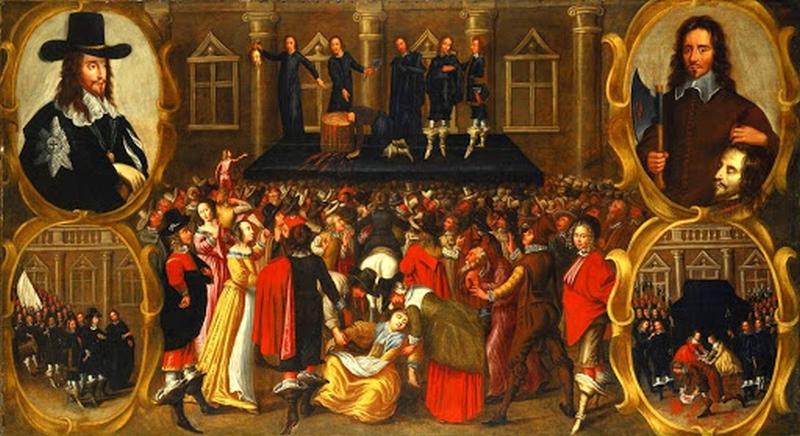 Падіння протектората Кромвеля 1659 р