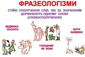Фразеологізми