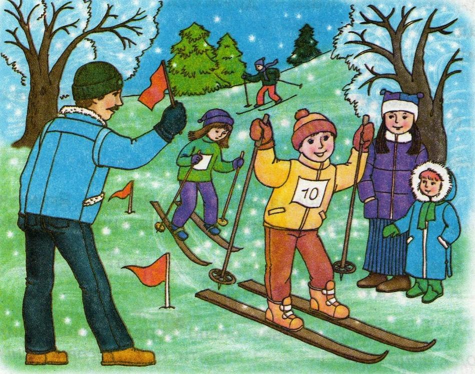 Розповідь снігове містечко