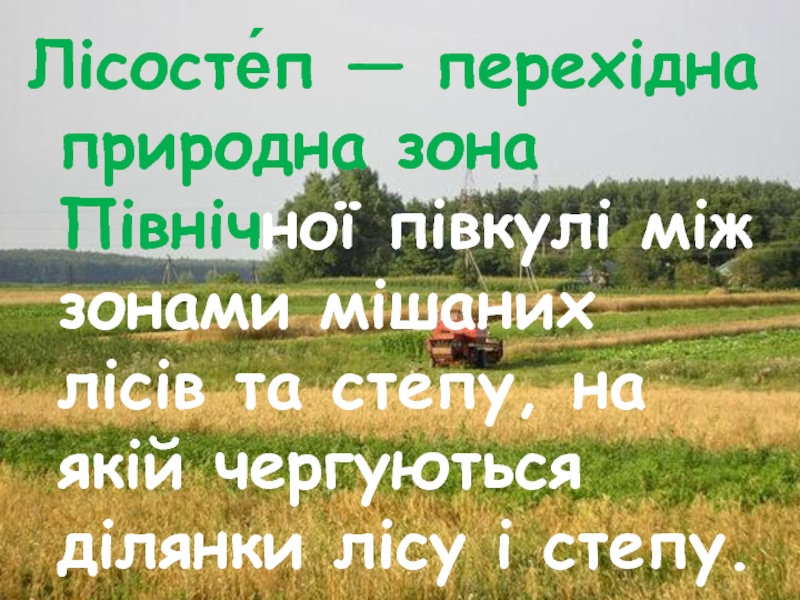 Лісостеп України