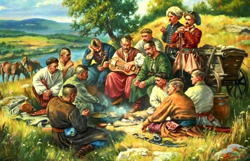 Розповідь про козаків