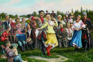Розповідь про Україну