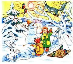 Текст розповідь про зиму