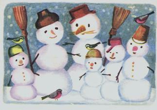 Розповідь про снігове містечко 3 клас